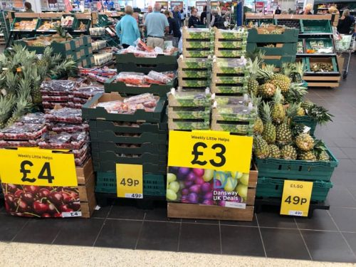71339a2963e79 Tesco even had Large Pineapples reduced from £1.50 to ONLY 49p