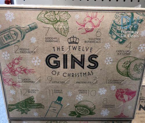 974335ae3ff4d 12 GINS Of Christmas Advent Calendar at B M – Dansway UK Deals