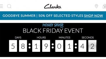224b423d1a4dc Clarks Confirm Black Friday Sale for 2018