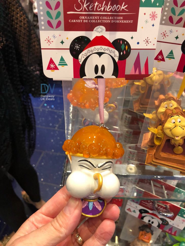 You can take a look at our hands-on photo for a closer look at the Chip  decoration, but you can buy it now online at The Disney Store if you are ... - Disney Chip Hanging Christmas Decoration At The Disney Store