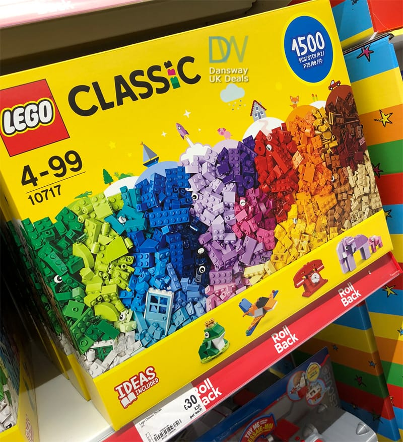 LEGO Classic 10717 1500 Pieces £30 at ASDA - Dansway Gifts UK