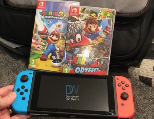 9aaf14ef9ea Some of the best prices were seen at the start of Black Friday, here's what  we have found today for Nintendo Switch deals this Cyber Monday in the UK.